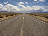 Desert Road — Stock Photo