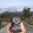 Stock Photo: Hand-held Compass