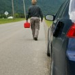 Out of gas — Stock Photo