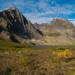 Grizzly lake in central yukon — Stock Photo
