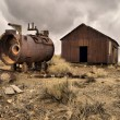 Stock Photo: Frisco mining ghost town