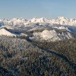 Winter mountain panorama -  
