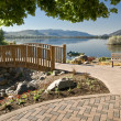 Royalty-Free Stock Photo: Lake Osoyoos and Pioneer Park