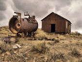 Frisco mining ghost town — Stock Photo