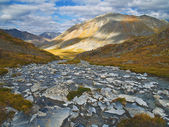 North Klondike River tributary in Autumn — Stock Photo