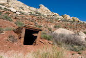 Old mineshaft — Stock Photo