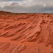 Stock Photo: Navajo Sandstone Layers