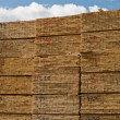 Stock Photo: Milled construction lumber