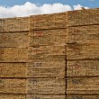 Milled construction lumber — Stock Photo