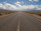 Desolate Utah Highway — Stock Photo