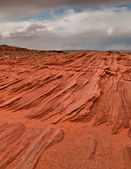 Navajo Sandstone Layers — Stock Photo