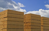 Milled Lumber — Stock Photo