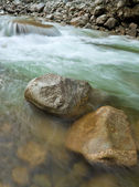 River boulders — Stock Photo