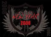Дата 2007 — Cтоковый вектор