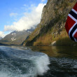 Stock Photo: Landscape of fiord in Norway