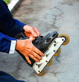 Roller fads — Stock Photo