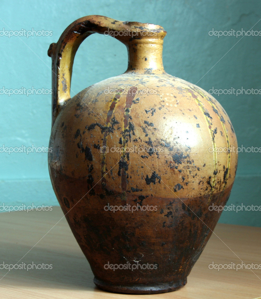 Old jug — Stock Photo #1494873