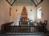 Interiér kostela melengell ve walesu — Stock fotografie