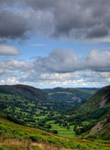 Valley in North Wales — Stockfoto