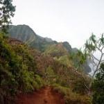 View of Na Pali coast — Stock Photo