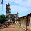 Old church in Kopala in Mexico — Stock Photo