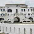 Elmina Castle in Ghana entrance - Stock Photo