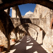 Arches of San Jan Mission near San Anton — Stock Photo