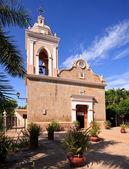 παλιά πέτρινη εκκλησία στη el quelite — Stock fotografie