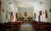 Interior of El Quelite Church in Mexico — Stock Photo