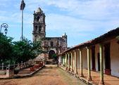 Old church in Kopala in Mexico — Stock Photo