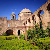 San Antonio Mission San Juan in Texas — Stock Photo