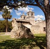 Concepcion van de missie van de san antonio in texas — Stockfoto