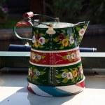 handgemalte traditionell dekoriert Wasser — Stockfoto