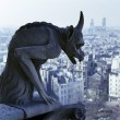 Royalty-Free Stock Photo: Gargoyle overlooking Paris