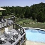 Backyard Pool 3 — Stock Photo #1175635