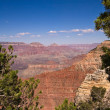 Grand Canyon rock formations — Stock Photo
