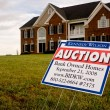 Bank house auction — Stock Photo