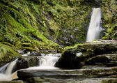 Close up of waterfall — Stock Photo