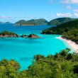 Trunk Bay on the island of St John — Stock Photo