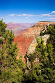 Overview of a Grand Canyon valley frame — Stock Photo