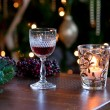 Sherry for santa — Stock Photo