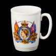 Stock Photo: Antique mug celebrating coronation