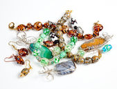 Various hand made bracelets — Stock Photo
