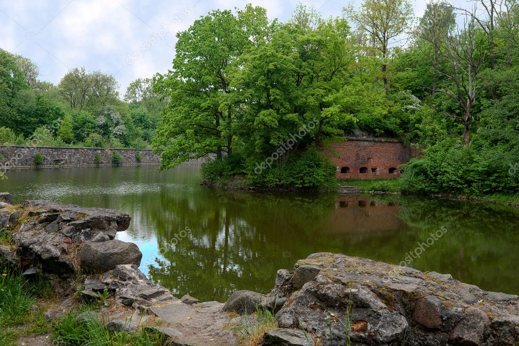Old fort in the city of Kaliningrad — Stock Photo #1027910