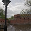 Old fort in the city of Kaliningrad - Stock Photo