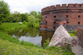 Old fort in the city of Kaliningrad — Stock Photo