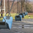 Royalty-Free Stock Photo: Empty swings