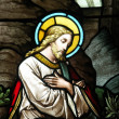 Royalty-Free Stock Photo: Christ in stained glass