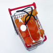 Shopping for health care (top view) — Stock Photo #1023057