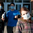 Swine flu at school — Stock Photo #1026092